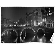 Frozen Amsterdam Poster