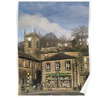 Holmfirth - Watercolour Effect Poster