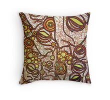 Claustrophobic Dementia With A Touch Of Homesick (The Portland Strain) Throw Pillow