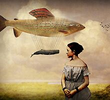 Whale watching by Catrin Welz-Stein