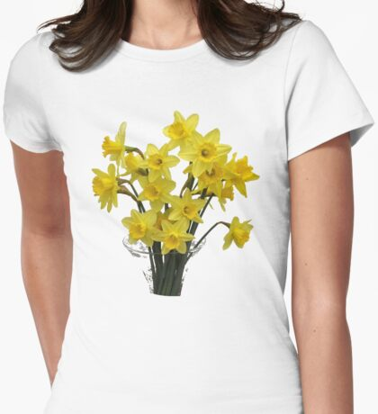 Flowers of spring Womens Fitted T-Shirt