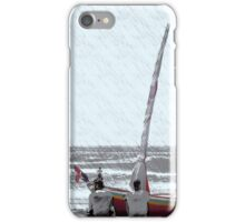 Chilling Out Beach Style iPhone Case/Skin