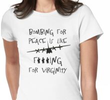 Bombs Away Womens Fitted T-Shirt