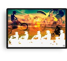 Motocross Dream Canvas Print