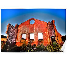 I'm Still Standing - Blast Furnace Park, Lithgow NSW- The HDR Experience Poster
