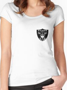 Raider Klan Small Women's Fitted Scoop T-Shirt