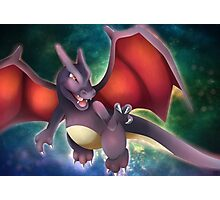 Shiny Charizard Photographic Print
