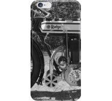 1913 Rudge Motorcycle iPhone Case/Skin