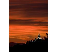 Oakland Temple Photographic Print
