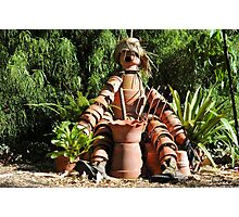 Pottery Dude Photographic Print