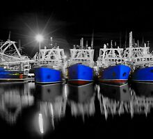 Kailis boats in fremantle by Danzo