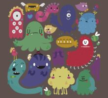 Colorful Creatures Kids Clothes