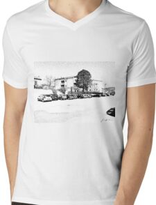 Agropoli: view Mens V-Neck T-Shirt