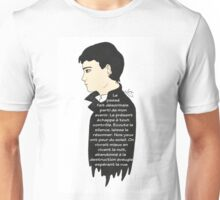 Sam Riley - Control (french text) Unisex T-Shirt