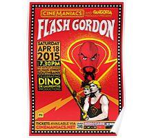 Cinemaniacs - Flash Gordon Poster