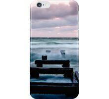 Sunset at the Mentone Pier iPhone Case/Skin