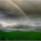 Rainbow Over the Mahoosucs by Wayne King