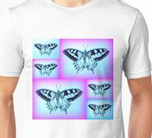 Purple and Blue Unisex T-Shirt
