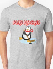 play hockey penguin T-Shirt