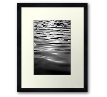 WATER ONE Framed Print