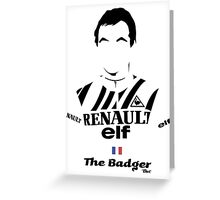 The Badger - Bici* Legendz Collection Greeting Card