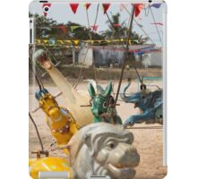 Animals - Vintage Carousel (1/3) iPad Case/Skin