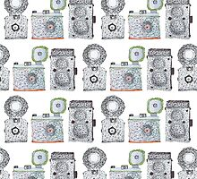 Camera Pattern by monicamarcov
