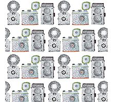 Camera Pattern Photographic Print