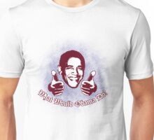 What Would Obama Do? (Maroon and Navy on White) Unisex T-Shirt