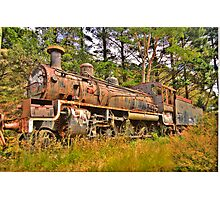 Needs Some Work - Zig Zag Railway - The HDR Experience Photographic Print