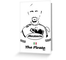 The Pirate - Bici* Legendz Collection Greeting Card
