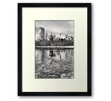 Icy Florido Tower Framed Print