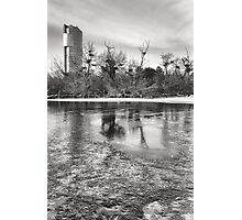Icy Florido Tower Photographic Print