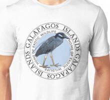 Galapagos Islands Night Heron Unisex T-Shirt