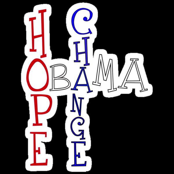 OBAMA - Change Hope by Rajee