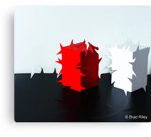 Cubist Duality Canvas Print