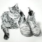 Puss 'n' Boots by Melanie Deroon