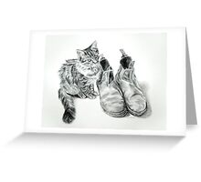 Puss 'n' Boots Greeting Card