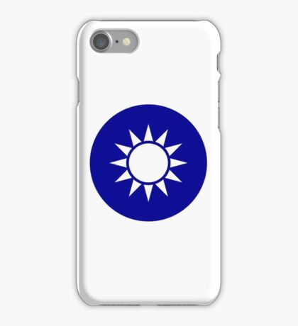 The Republic of China Air Force - Roundel iPhone Case/Skin