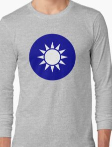 The Republic of China Air Force - Roundel Long Sleeve T-Shirt