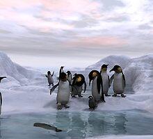 Antarctic Dawn by Ken Gilliland