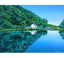 Lock Keeper's Cottage Photographic Print