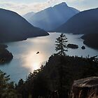 Diablo Lake - North Cascades by Mark Heller