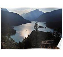 Diablo Lake - North Cascades Poster