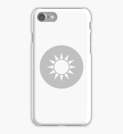 The Republic of China Air Force - Roundel (low-vis) iPhone Case/Skin