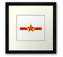 Chinese Air Force - Roundel Framed Print