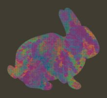 Tie Die Bunny by Rebekah  McLeod