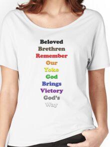 Resistor Code 14 - Beloved Brethren... Women's Relaxed Fit T-Shirt