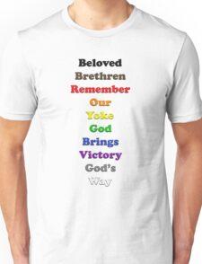 Resistor Code 14 - Beloved Brethren... Unisex T-Shirt