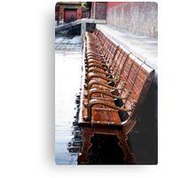 Forbidden City Long Bench Metal Print